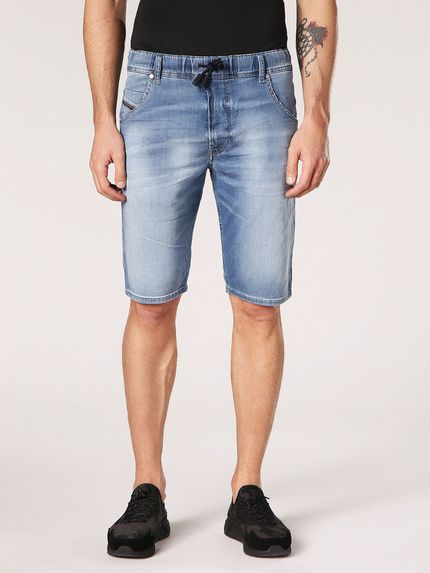 KROOSHORT JOGGJEANS, Light Blue - Shorts