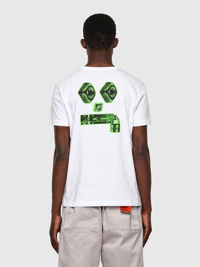 Diesel - T-DIEGOS-B4, Blanc - T-Shirts - Image 2