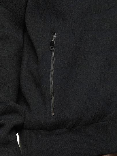 Diesel - K-ALAMAN, Black - Sweaters - Image 4