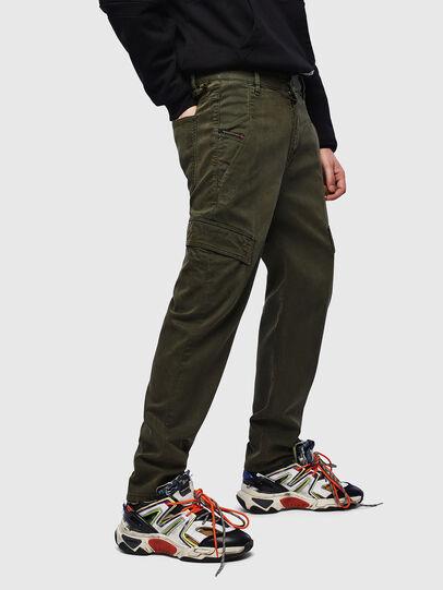 Diesel - D-Krett JoggJeans 069LX, Vert Militaire - Jeans - Image 4