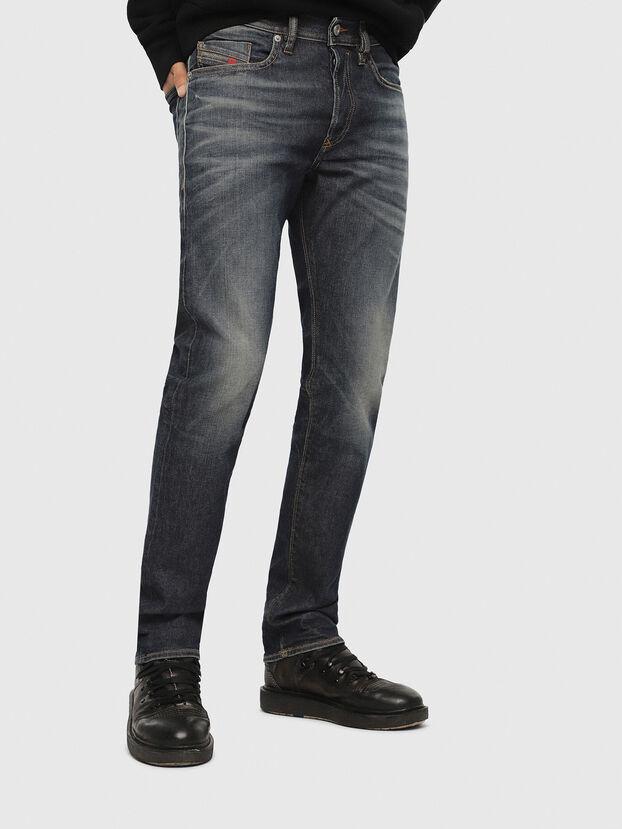 Buster 084ZU, Bleu Foncé - Jeans