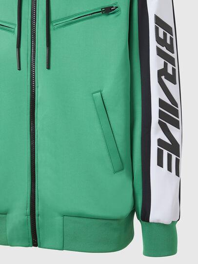 Diesel - S-STEEL, Green - Sweatshirts - Image 4