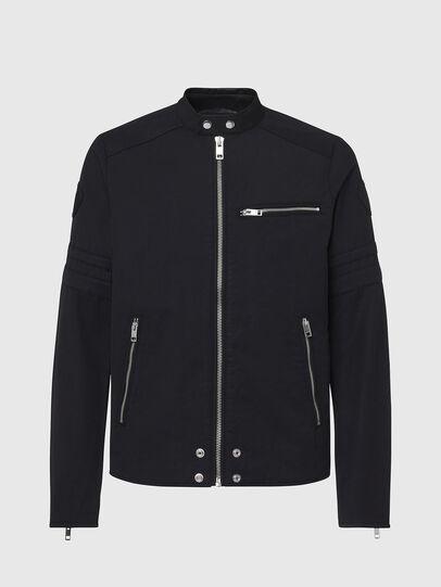 Diesel - J-GLORY, Black - Jackets - Image 1