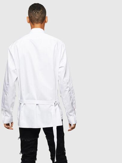 Diesel - S-PATCH-P, Blanc - Chemises - Image 2