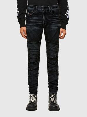 D-Strukt JoggJeans® 069TG, Noir/Gris foncé - Jeans