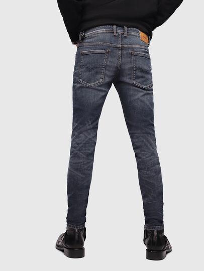 Diesel - Sleenker 069DG, Bleu Foncé - Jeans - Image 2