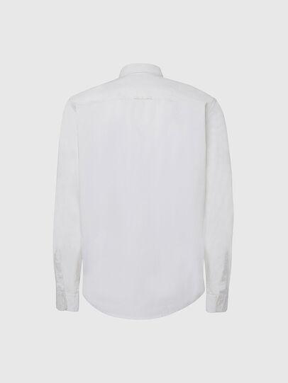 Diesel - S-ALLEN-KA, Blanc - Chemises - Image 2