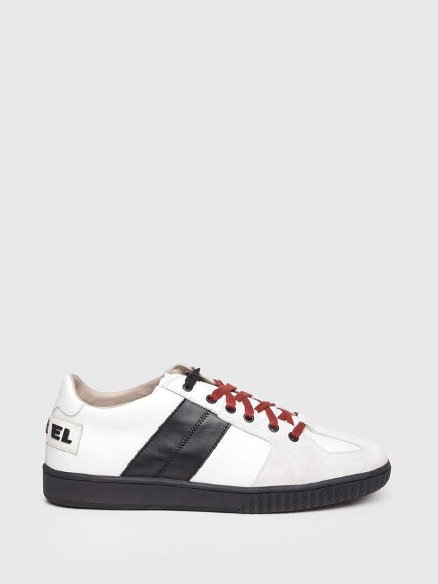 S-MILLENIUM LC, White/Black - Sneakers