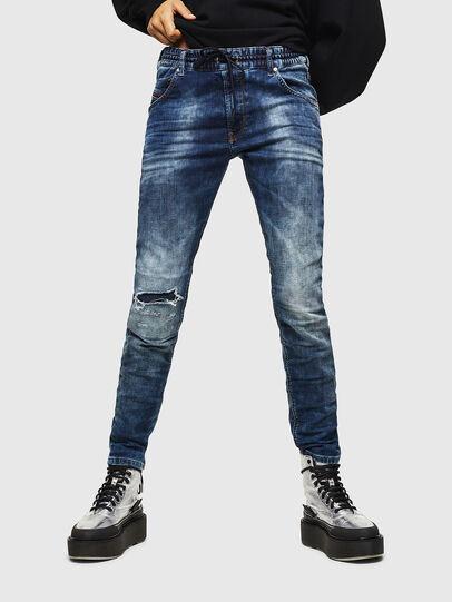 Diesel - Krailey JoggJeans 069AA, Bleu Foncé - Jeans - Image 1