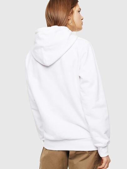 Diesel - S-GIRK-HOOD, Blanc - Pull Cotton - Image 3