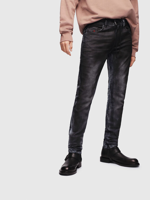 Thommer JoggJeans 086AZ, Bleu Foncé - Jeans