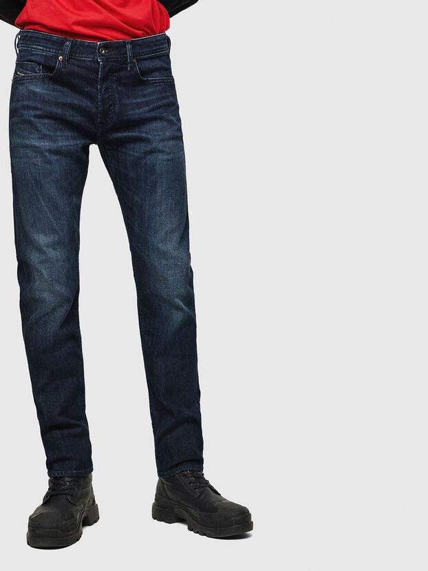 Buster 0095W, Bleu Foncé - Jeans