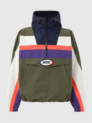 J-SHAUN, Violet/Green - Jackets