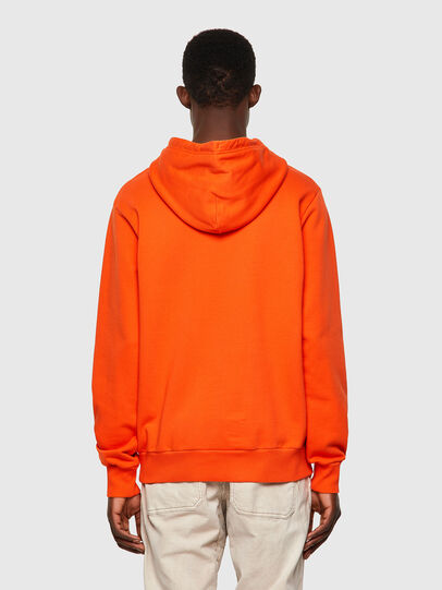Diesel - S-GIRK-HOOD-B4, Orange - Pull Cotton - Image 2