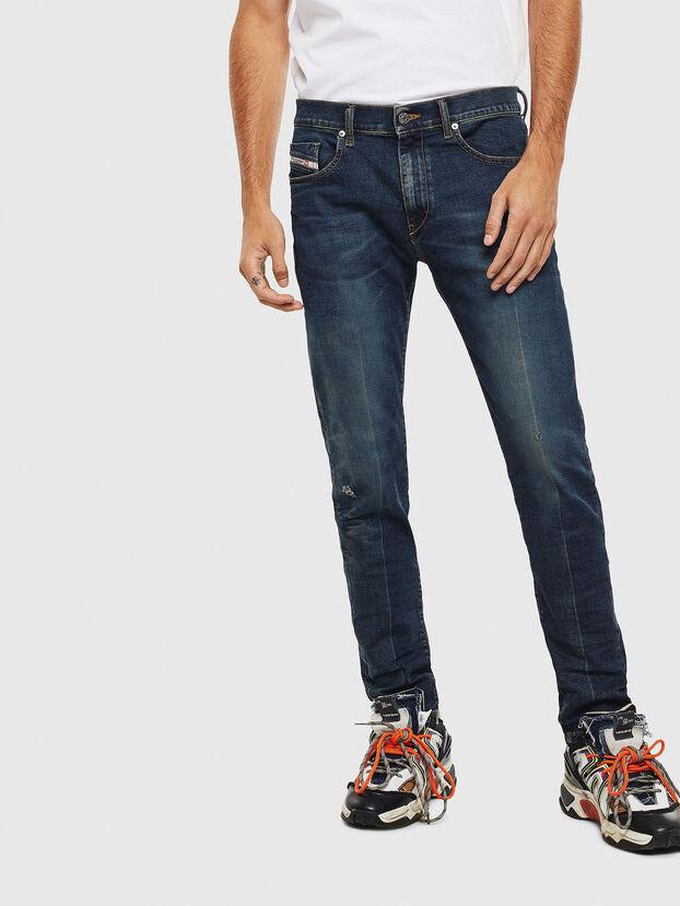 D-Strukt 0093J, Bleu Foncé - Jeans