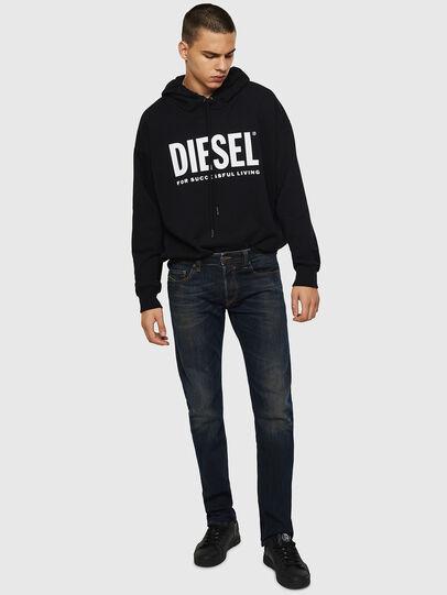 Diesel - Safado 0890Z, Dark Blue - Jeans - Image 5