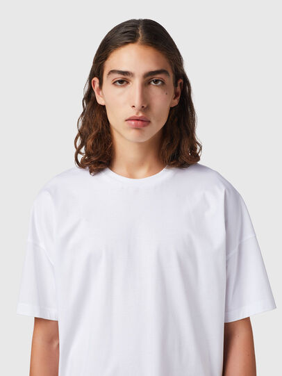 Diesel - T-KRIBBY, White - T-Shirts - Image 3