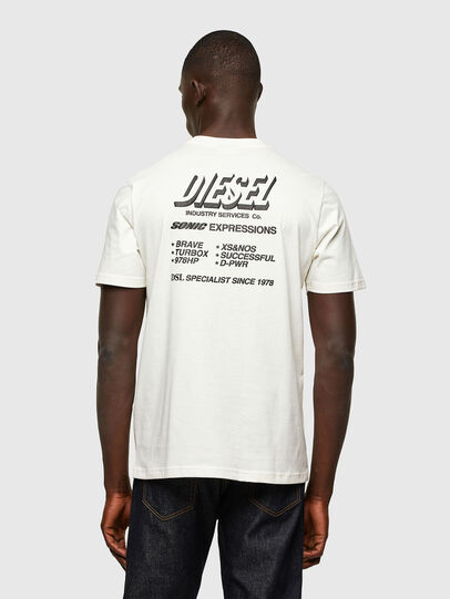 Diesel - T-JUST-A33, Blanc - T-Shirts - Image 2