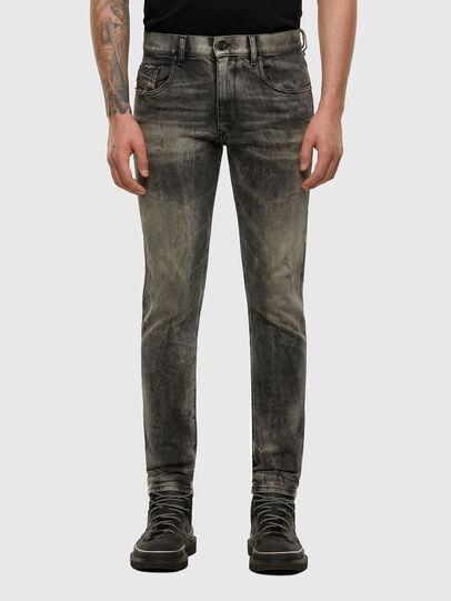 Diesel - D-Strukt 009EV, Noir/Gris foncé - Jeans - Image 1