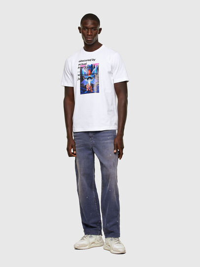 Diesel - T-JUST-A43, Blanc - T-Shirts - Image 4