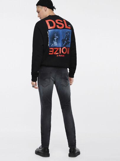 Diesel - Thommer JoggJeans 084XJ, Black/Dark Grey - Jeans - Image 2