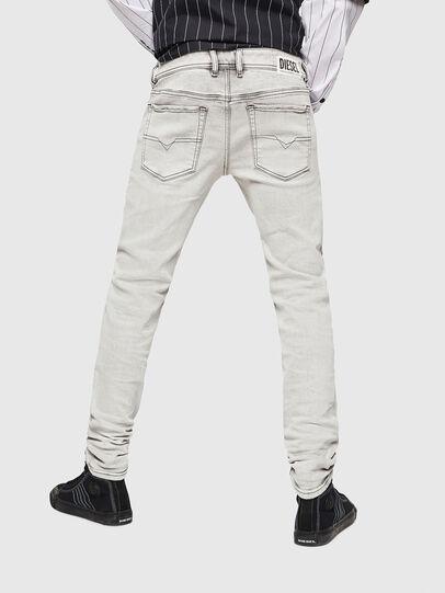 Diesel - Sleenker 0090F, Gris Clair - Jeans - Image 2