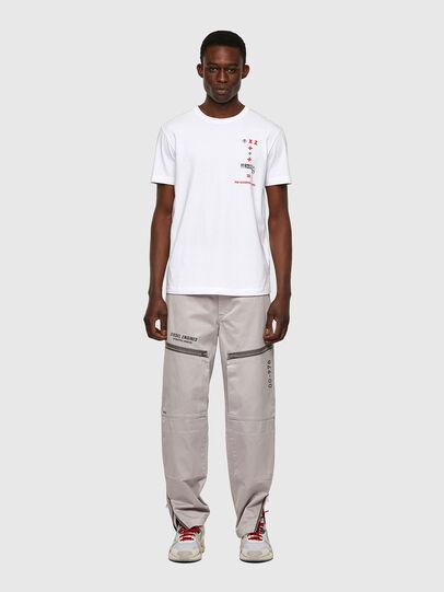 Diesel - T-DIEGOS-B4, Blanc - T-Shirts - Image 4