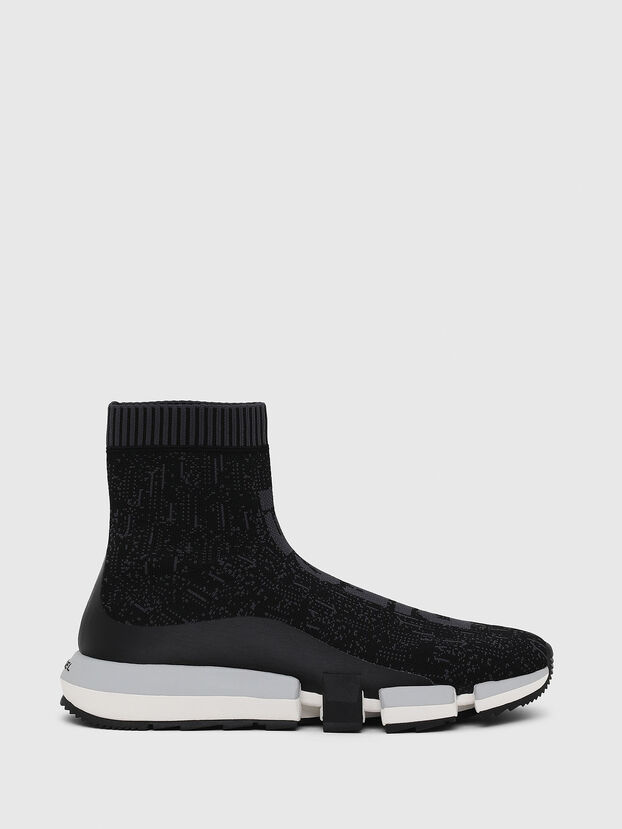 H-PADOLA MID SOCK, Noir - Baskets