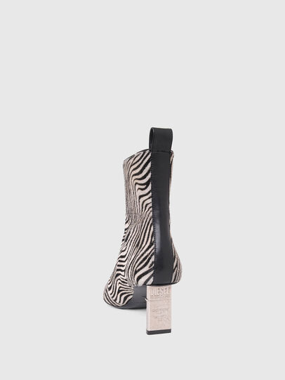 Diesel - D-LEZIPPO MAB, Black/White - Ankle Boots - Image 4