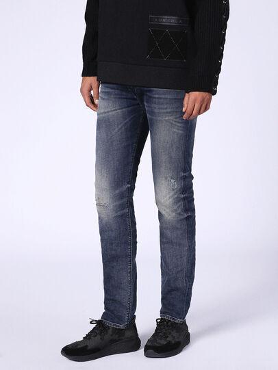 Diesel - Buster 0687U, Bleu Foncé - Jeans - Image 1