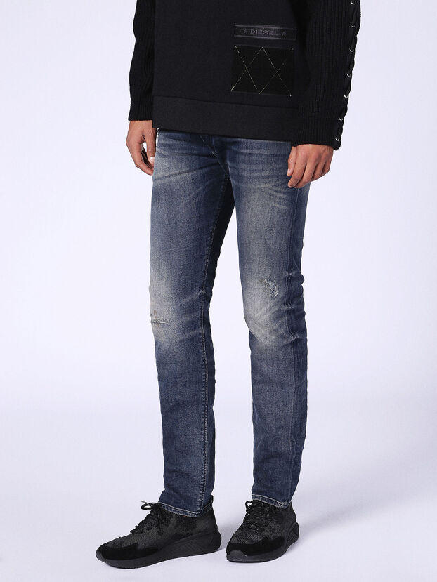 Buster 0687U, Bleu Foncé - Jeans