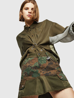 O-AMATA, Vert Camouflage - Jupes