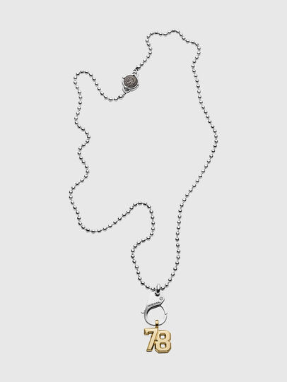 Diesel - DX1229, Silver - Necklaces - Image 1