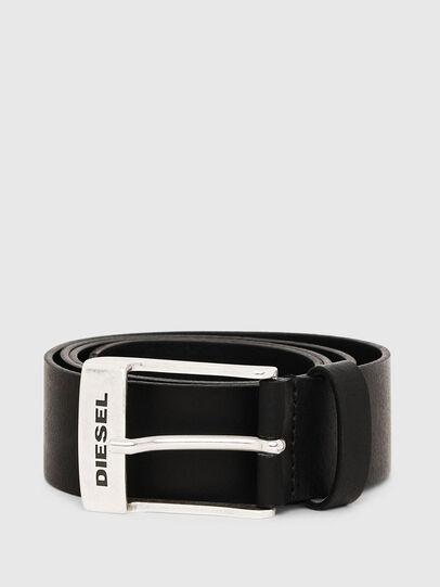 Diesel - B-TOMBOLO, Noir - Ceintures - Image 1