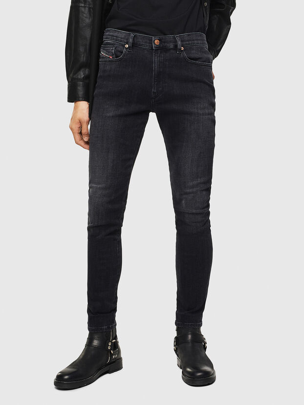 D-Amny 0096P, Black/Dark Grey - Jeans