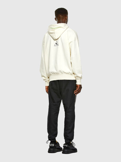 Diesel - S-ALBY-X2, Blanc - Pull Cotton - Image 6