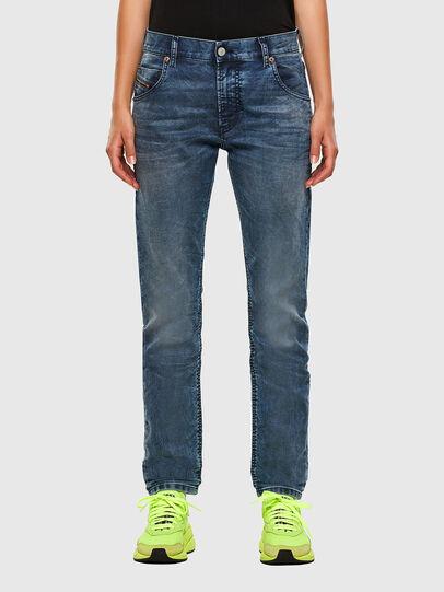 Diesel - KRAILEY JoggJeans® 069NZ, Bleu moyen - Jeans - Image 1