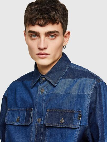 Diesel - D-HORUS, Bleu - Chemises en Denim - Image 3