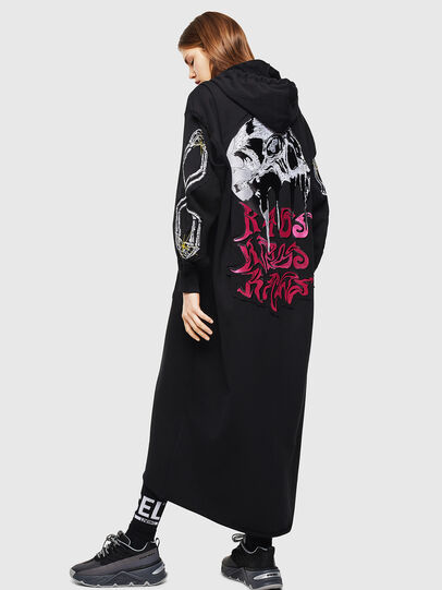 Diesel - D-ILSE-TWIST-A, Noir - Robes - Image 2