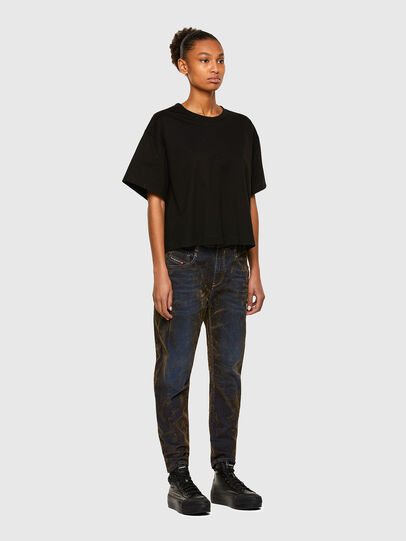 Diesel - Fayza 069RQ, Bleu/Jaune - Jeans - Image 6