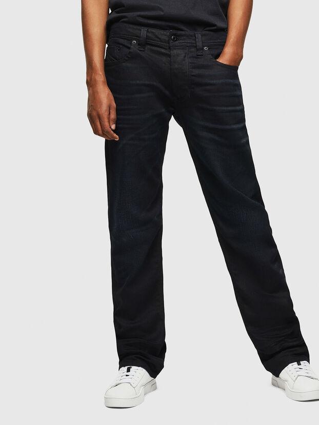 Larkee C84AY, Bleu Foncé - Jeans