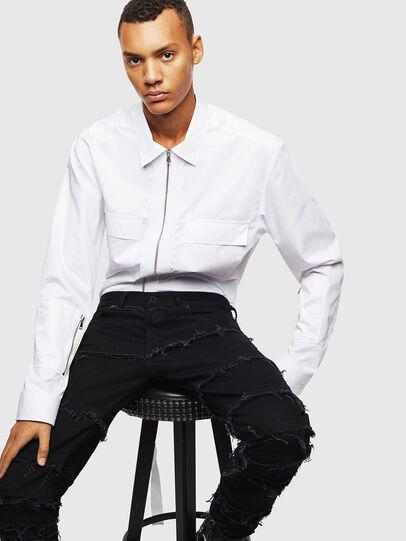 Diesel - S-PATCH-P, Blanc - Chemises - Image 5