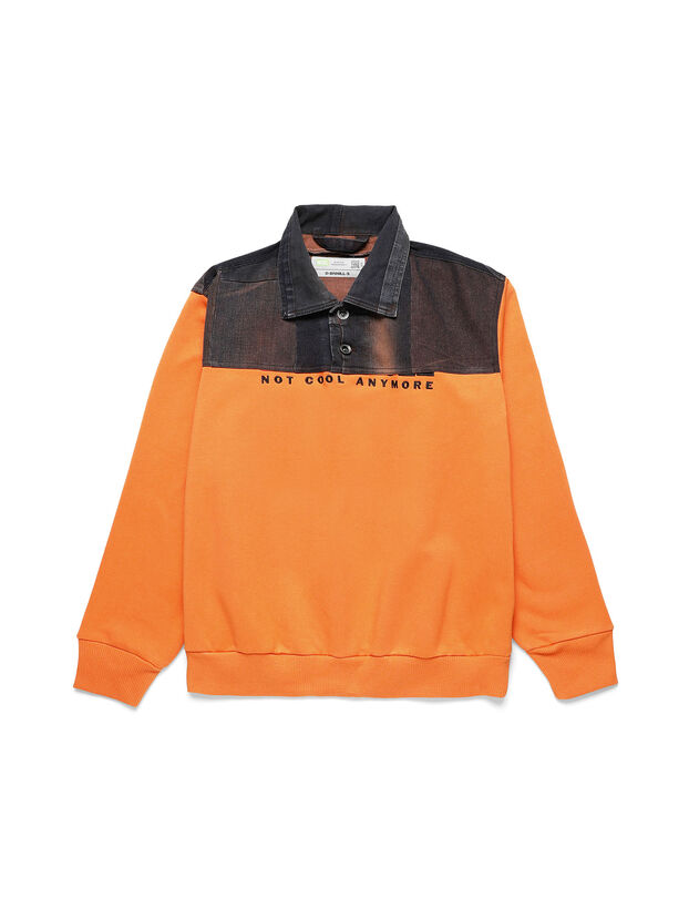 D-BNHILL-S, Orange - Sweatshirts
