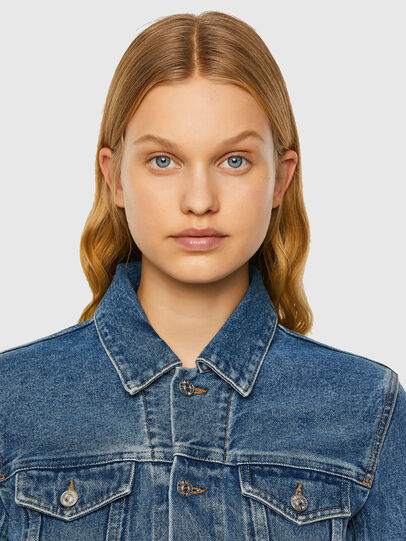 Diesel - DE-NINO, Medium Blue - Denim Jackets - Image 3