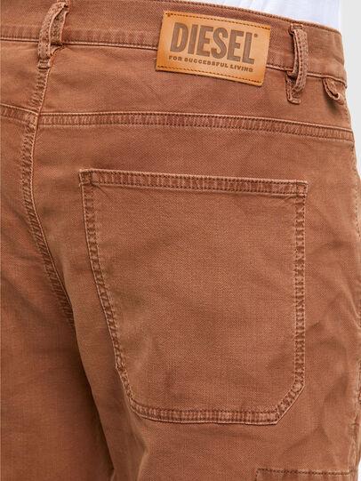 Diesel - D-Krett JoggJeans 069RJ, Marron Clair - Jeans - Image 4
