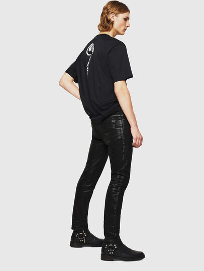 Diesel - TEORIALE-X1, Noir - T-Shirts - Image 5