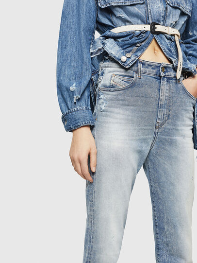 Diesel - D-Eiselle 084AA, Bleu Clair - Jeans - Image 3