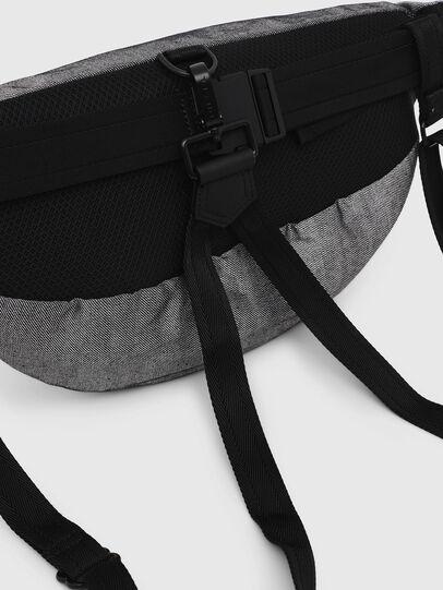 Diesel - TRIBELT, Gris/Noir - Sacs ceinture - Image 4