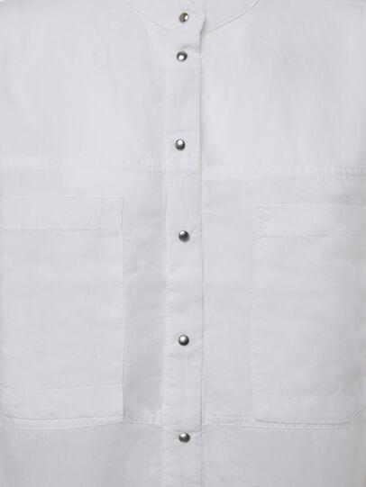 Diesel - C-SUPER-E, Blanc - Chemises - Image 5