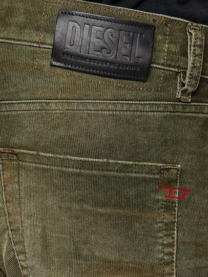 Diesel - D-Strukt 069PT, Vert Militaire - Jeans - Image 4